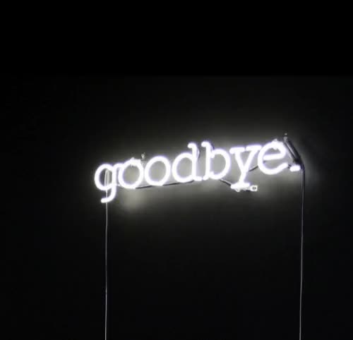 Watch this bye GIF by The GIF Smith (@sannahparker) on Gfycat. Discover more bye, farewell, good bye, goodbye, neon sign GIFs on Gfycat