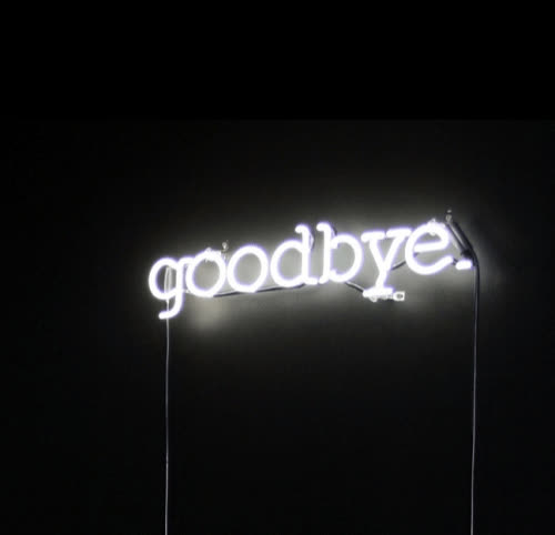 bye, farewell, good bye, goodbye, neon sign, Goodbye GIFs