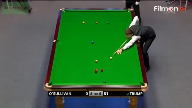 snooker, sports, Judd Trump with a spot of luck in the Champion of Champions Final (reddit) GIFs
