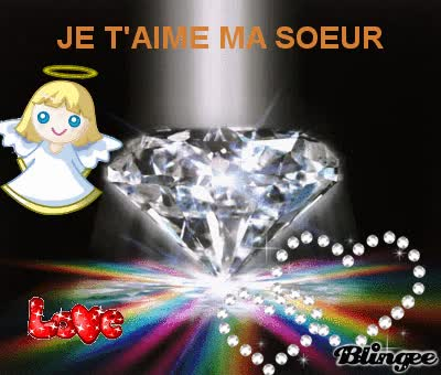 Watch and share JE T'AIME MA SOEUR GIFs on Gfycat