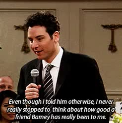 Watch and share Barney Stinson GIFs and Ted Mosby GIFs on Gfycat