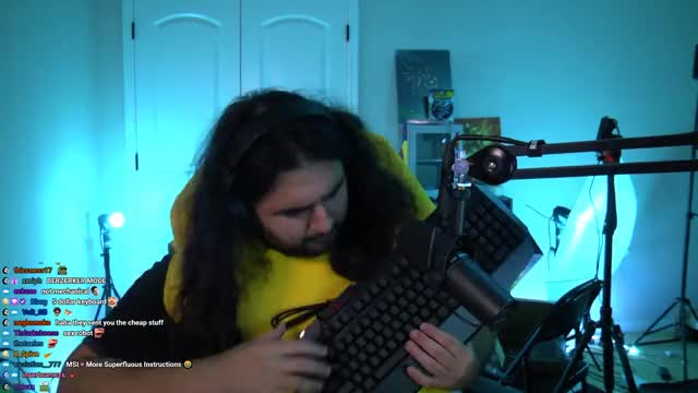 EsfandTV #TechnoBananaKeyboardWarrior