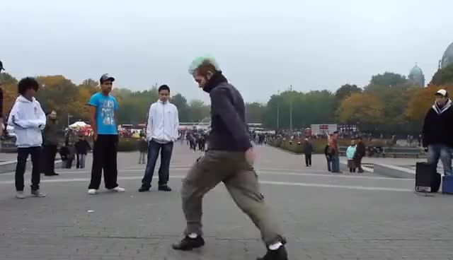 Watch and share JumpStyle HardJump Shuffle @ Berlin HardStyle Germany GIFs on Gfycat