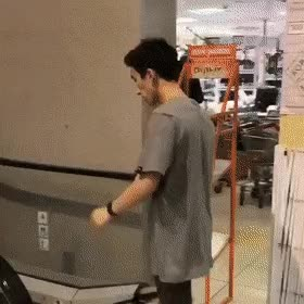 Watch and share Escalator Backflip GIFs on Gfycat