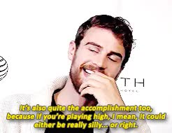 Watch and share Richard Gere GIFs and Theo James GIFs on Gfycat