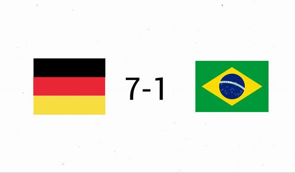 Belgium vs Brazil #WorldCup GIFs
