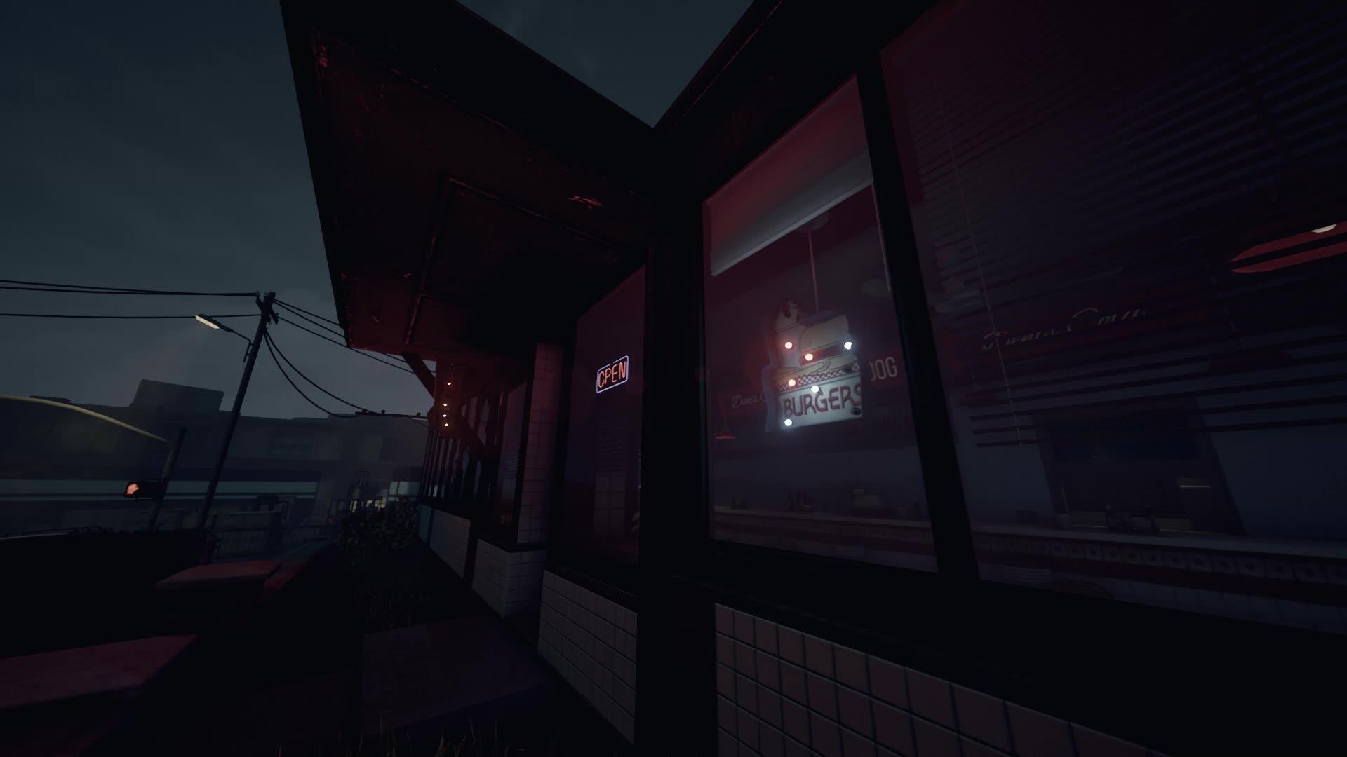Cafe.Lights, Husk, night, Cafe GIFs