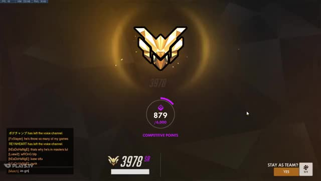 Watch and share Luew - #promotionOW #grandmaster #overwatch GIFs on Gfycat