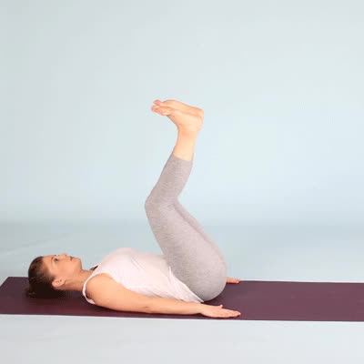 Watch and share 400x400-Legs Up The Wall Pose GIFs by Healthline on Gfycat