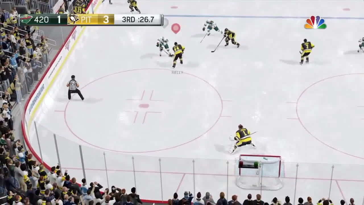 nhlhut, ps4share, sony interactive entertainment, NHL17 Lucic Finishes GIFs