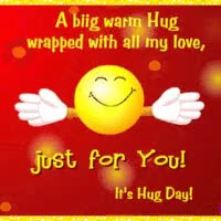 Watch and share A Big Warm Hug For You, Animated, With Glitter Effects GIFs on Gfycat