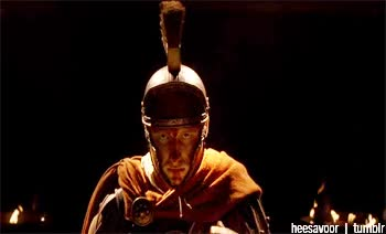Watch and share Lucius Vorenus Rome GIFs on Gfycat