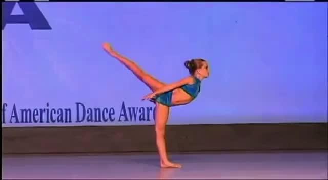 Mia Diaz, 9 Year old Dancer GIFs