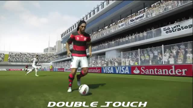 Watch PES 2013 Double touch GIF by FIFPRO Stats (@rahspot) on Gfycat. Discover more related GIFs on Gfycat