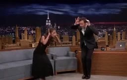 Watch and share The Tonight Show GIFs and Alicia Vikander GIFs on Gfycat