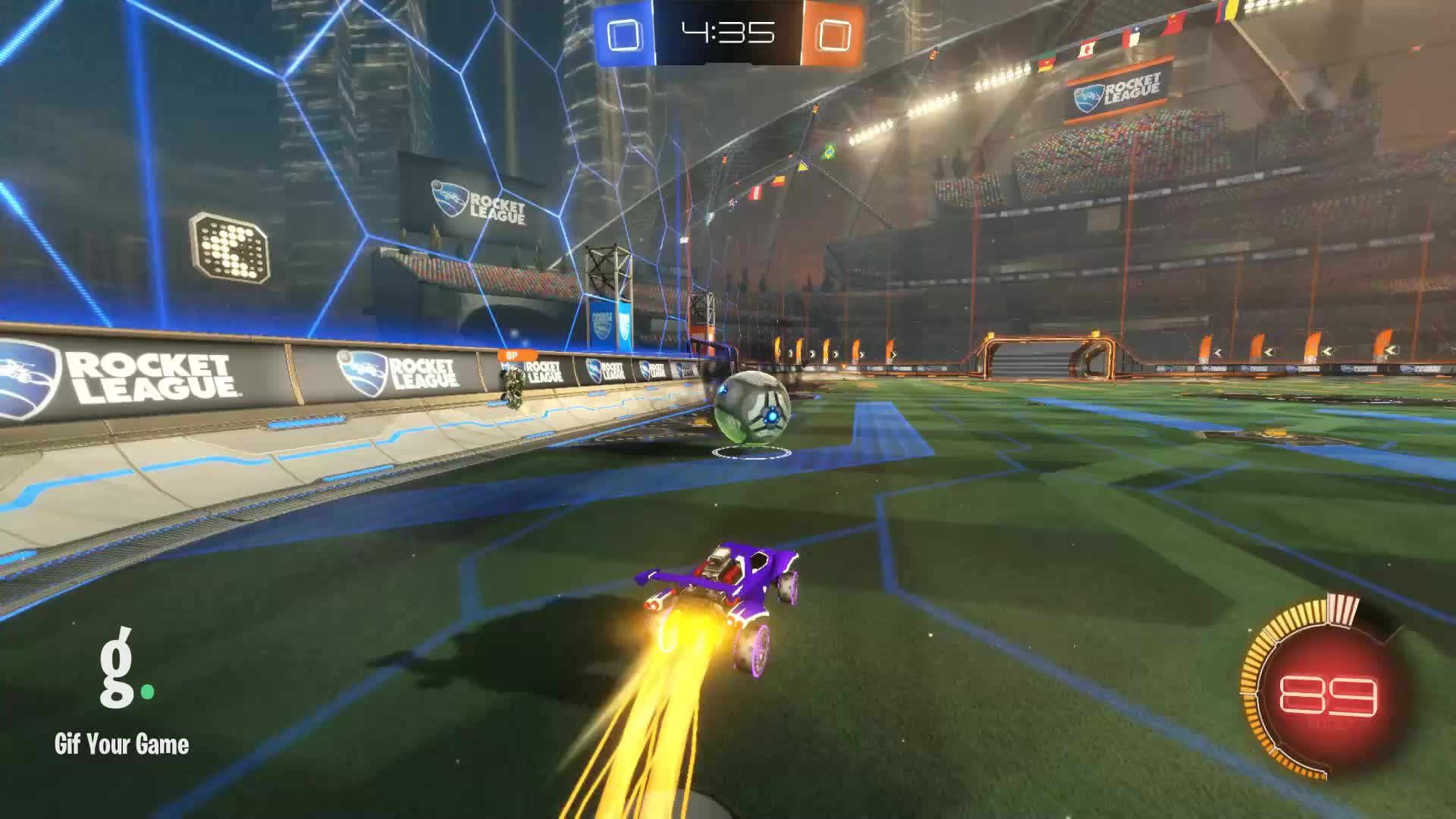 Doni, Gif Your Game, GifYourGame, Goal, Rocket League, RocketLeague, Goal 1: Doni GIFs