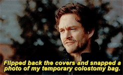 EVERYTHING ABOUT THIS SCENE IS JUST, L M A O, LMAO, and the way hugh says murder husbands oh my god, bless you, freddie lounds, fuckyeahannibal, hannibal, hannibaledit, i need it, im sure people are going to write fics, my edits, nbchannibal, thank you bryan fuller, will graham, graham cracker GIFs