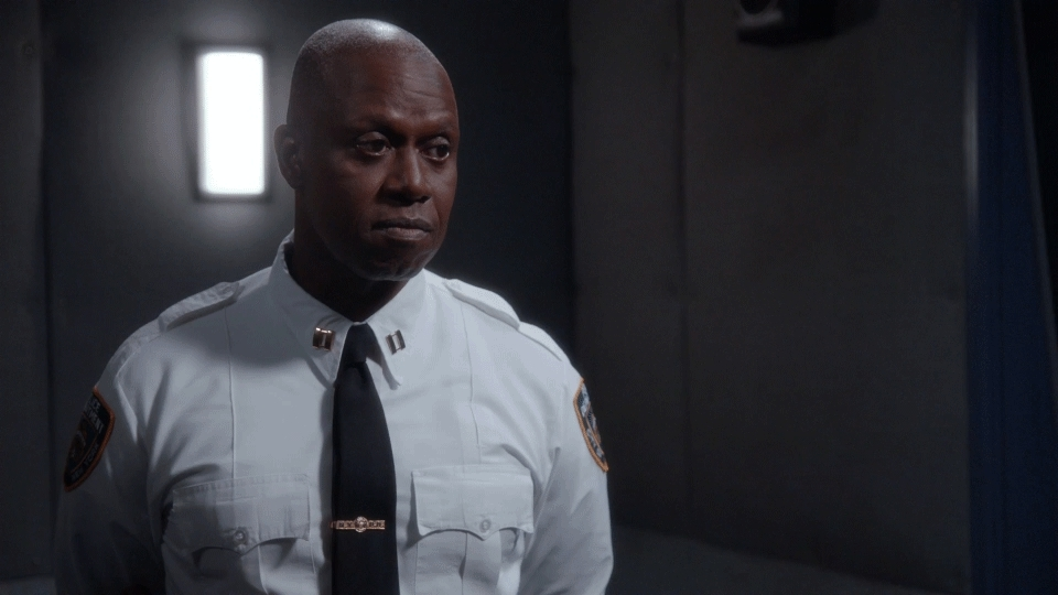 Andre Braugher, holt reaction GIFs