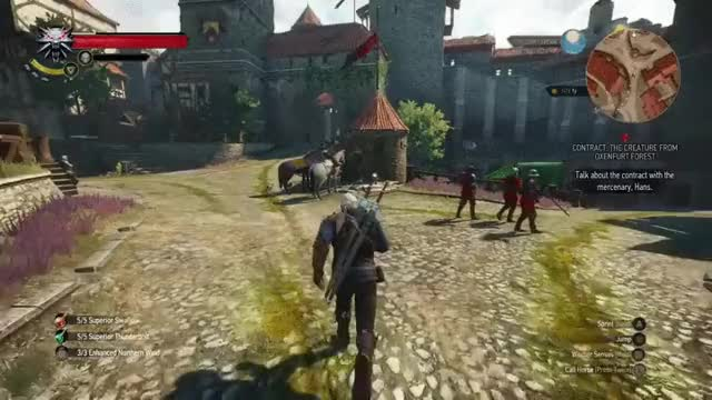 Watch Remind me not to try that again...Reminds me of a Ronda Rousey fight (reddit) GIF on Gfycat. Discover more witcher GIFs on Gfycat