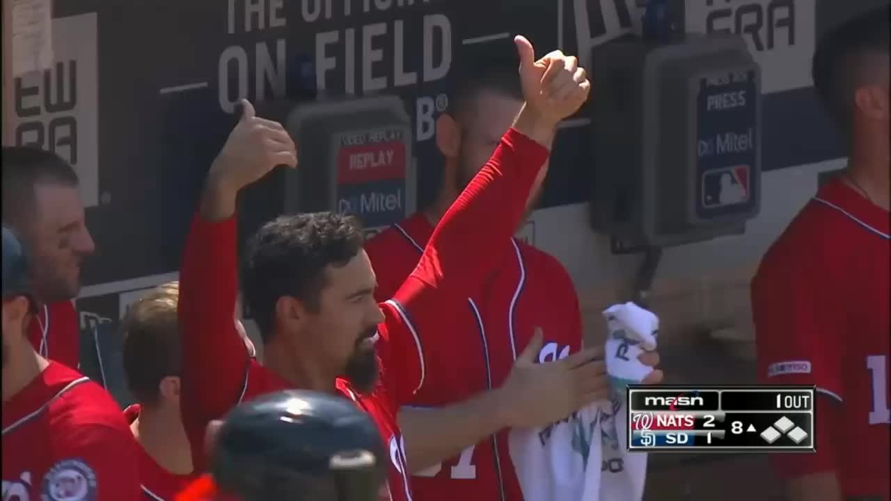 nationals, washington nationals, anthony rendon bring it on GIFs