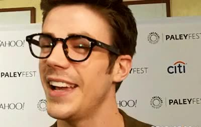 Watch and share Paleyfest 2015 GIFs and Grant Gustin GIFs on Gfycat