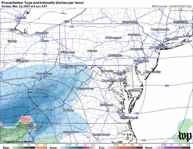 Watch GFS model simulation of snow Saturday night into Sunday. GIF on Gfycat. Discover more related GIFs on Gfycat