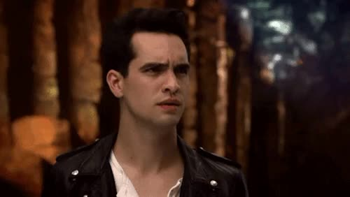 Watch Being me GIF on Gfycat. Discover more Panic! at the Disco, brendon urie, confused cutie, hallelujah, hallelujah music video GIFs on Gfycat