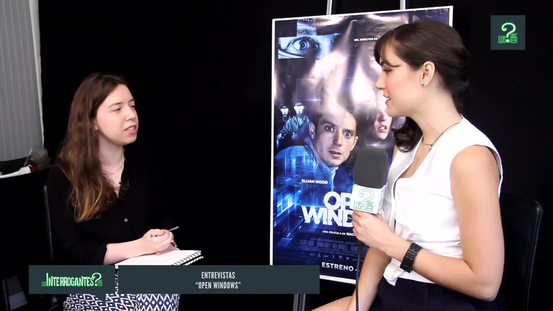 Entrevista, Open Windows, Shasha Grey, elijah wood, sasha grey, 'Open Windows', Sasha Grey interview GIFs