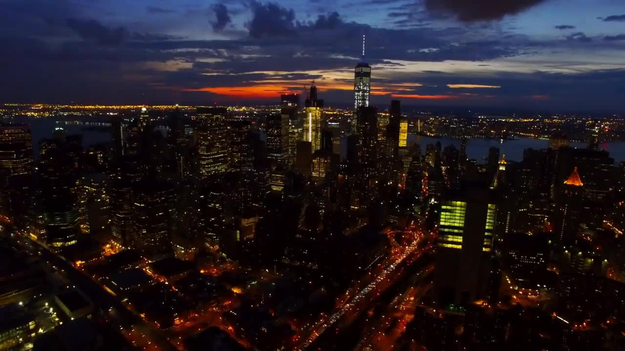 NYC Drone GIFs