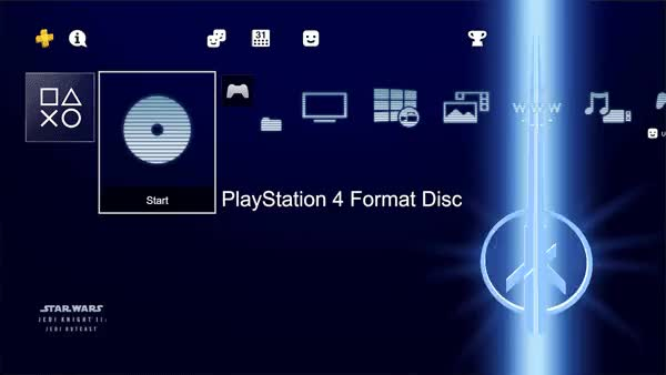 Watch and share Jedi Outcast PS4 Theme Gif Preview Fast GIFs by Raul Martinez Judas on Gfycat