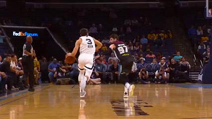Watch and share Grayson Allen — Memphis Grizzlies GIFs by Off-Hand on Gfycat