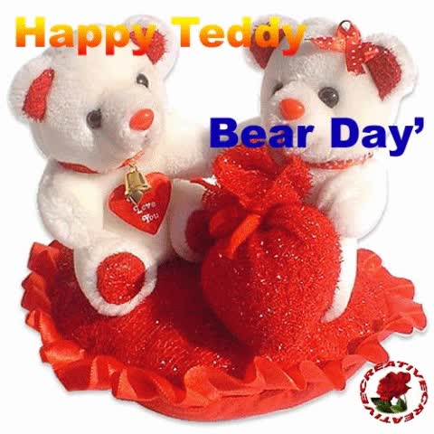 Watch and share Happy Teddy Day Animated Gifs GIFs on Gfycat