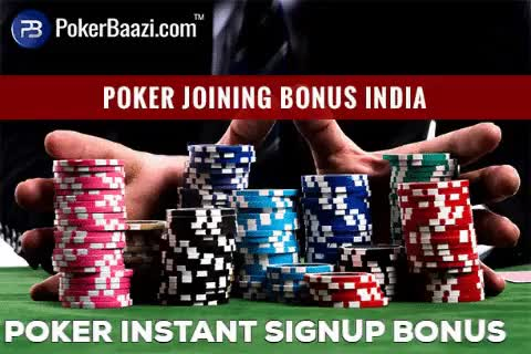 Watch Poker Instant Signup Bonus Offers in India GIF by Peter (@peterparker32) on Gfycat. Discover more Joining Code, Poker Joining Bonus, Signup Bonus Offers, poker GIFs on Gfycat