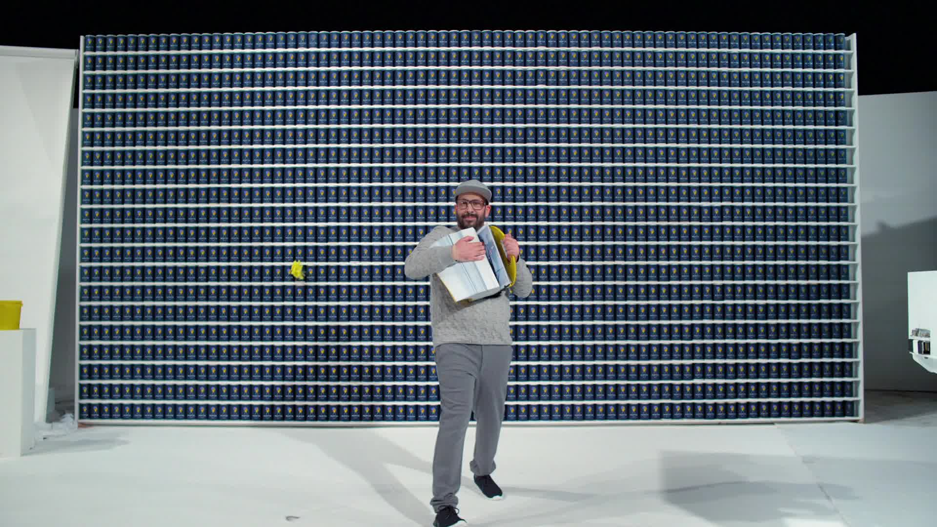 OK Go, The One Moment, Tim Nordwind, moment, morton, music, okgo, one, theonemoment, Colors All Around Tim - OK Go GIFs