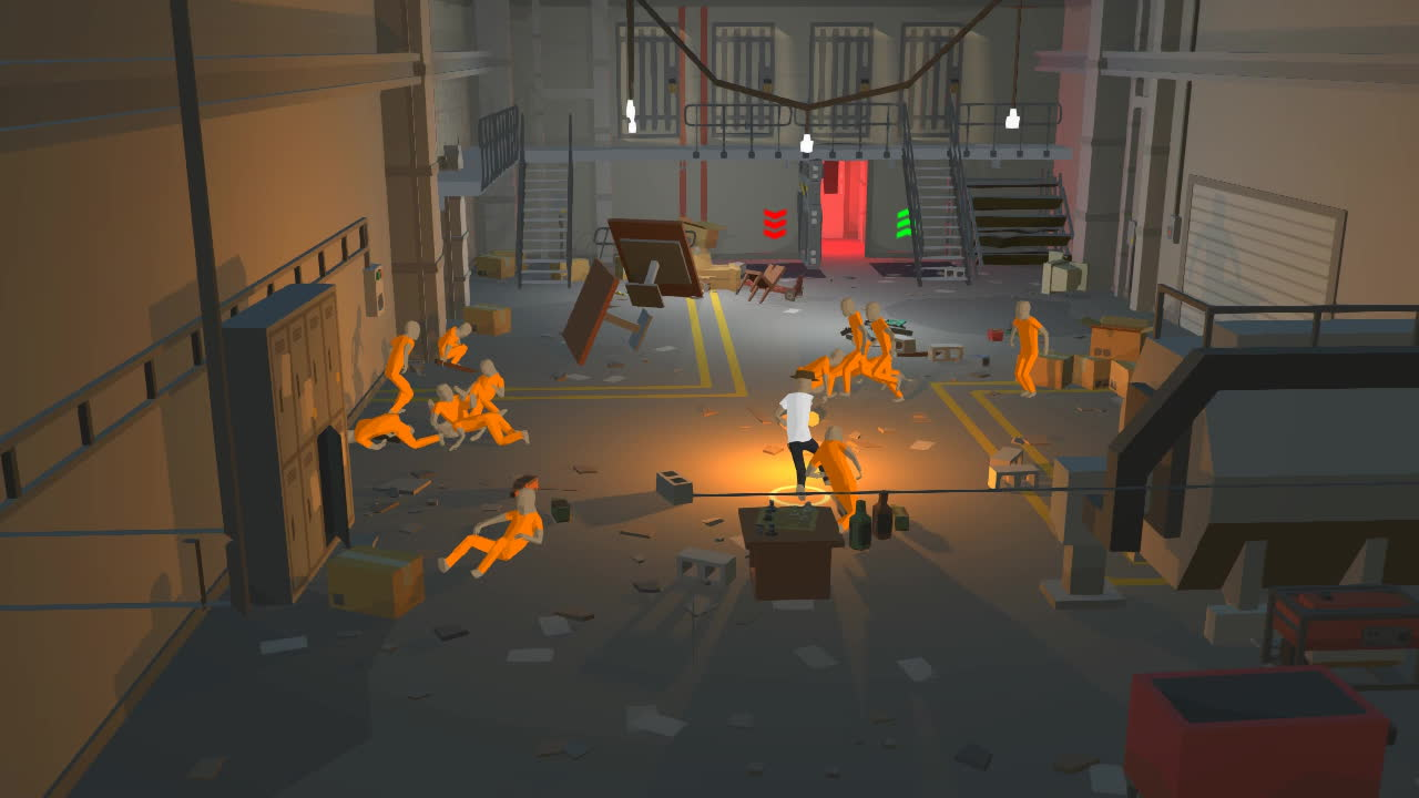 GamePhysics, gamephysics, [FOOTBRAWL]Totally Accurate Prison Riot Simulator (reddit) GIFs