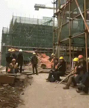 Watch and share This Construction Worker Dancing GIFs by irwiss on Gfycat