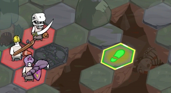 gamedevscreens, Pit People Wraiths fly over obstacles GIFs