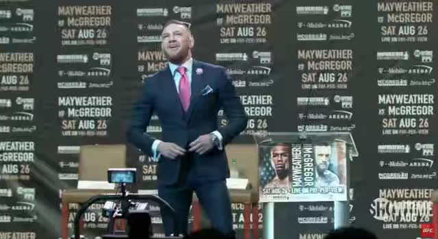 Watch and share Conor McGregor In A Nutshell GIFs by goldmath on Gfycat