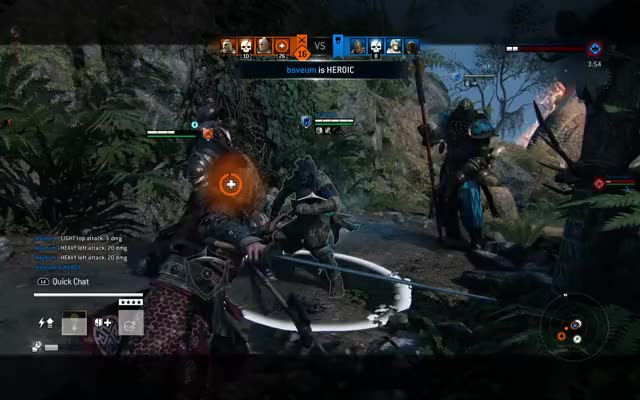 Watch and share For Honor™ Getting The Last Laugh GIFs on Gfycat