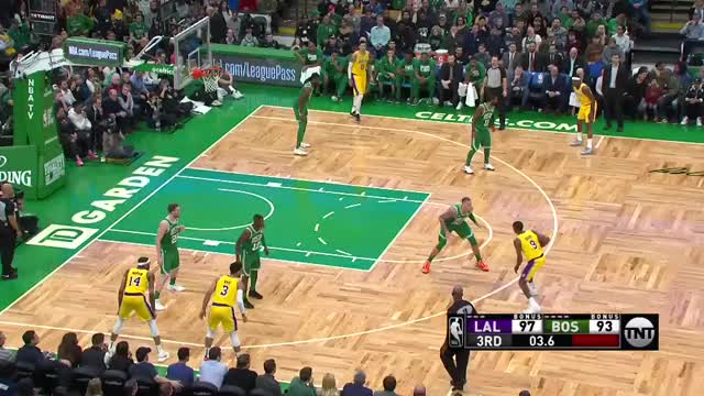 Watch 720p GIF on Gfycat. Discover more Boston Celtics, Los Angeles Lakers, basketball GIFs on Gfycat