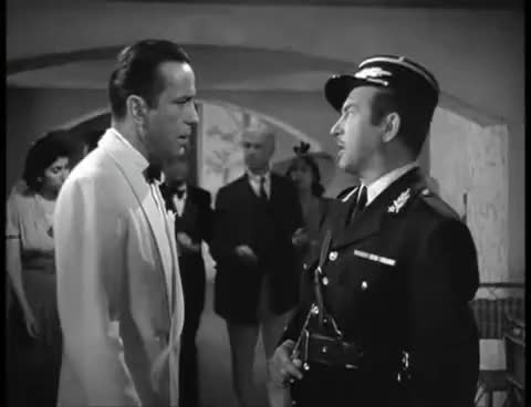 Watch and share Good Scene: Casablanca GIFs on Gfycat