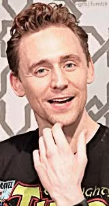 Watch and share Sexiest Man Alive GIFs and Tom Hiddleston GIFs on Gfycat