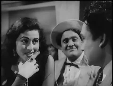 Watch and share Dekhke Teri Nazar - Madhubala, Ashok Kumar - Howrah Bridge - Bollywood Classic Song GIFs on Gfycat