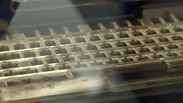 gifsthatendtoosoon, oddlysatisfying, Keyboard laser engraver GIFs