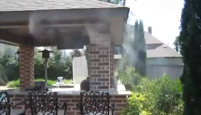 Patio Misting System GIF   Find, Make & Share Gfycat GIFs