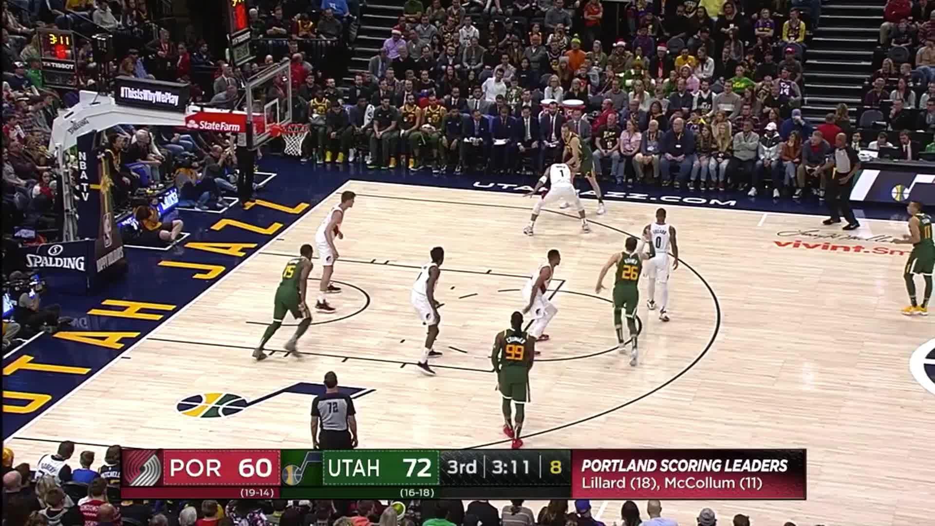 NBA, Joe Ingles_Three ball Turner GIFs