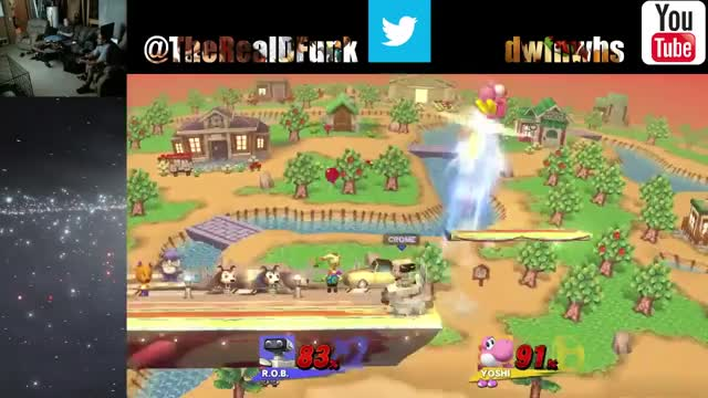 Watch and share Smashbros GIFs and Yoshi GIFs by crome on Gfycat