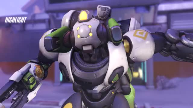 Watch and share Overwatch GIFs and Orisa GIFs by pandemonium on Gfycat