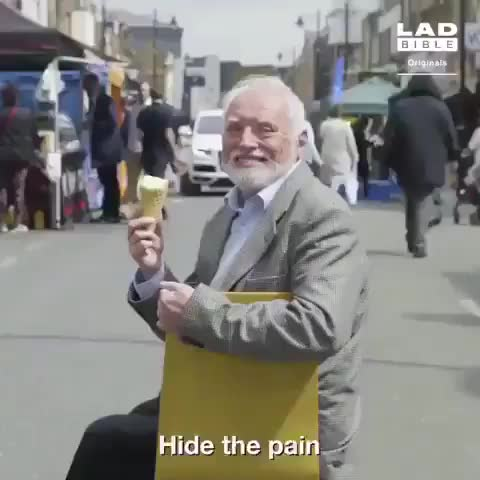 Harold is too wholesome for us. GIFs