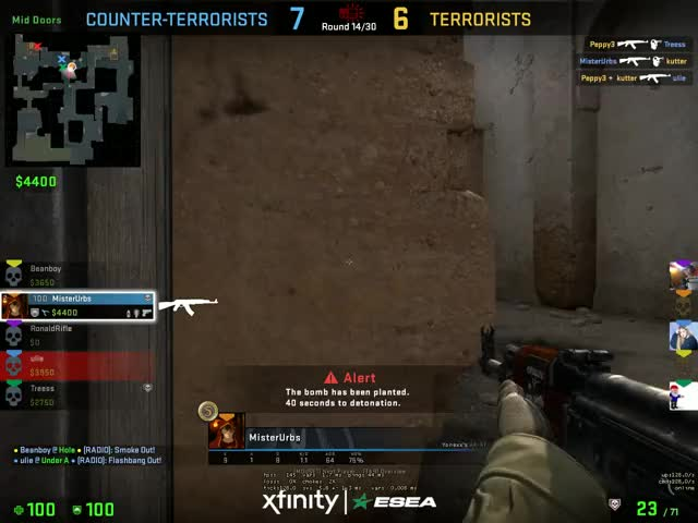 Watch and share Alex 1v3 GIFs on Gfycat